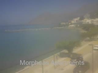 Онлайн веб камера Греции Крит побережье Плакиас